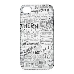 Panic At The Disco Lyrics Apple Iphone 4/4s Hardshell Case With Stand