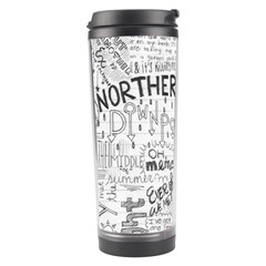Panic At The Disco Lyrics Travel Tumbler by Samandel