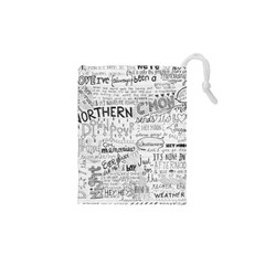 Panic At The Disco Lyrics Drawstring Pouches (xs)  by Samandel