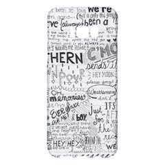 Panic At The Disco Lyrics Samsung Galaxy S8 Plus Hardshell Case