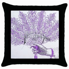 Panic At The Disco Throw Pillow Case (black) by Samandel