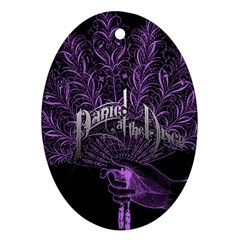 Panic At The Disco Ornament (oval) by Samandel