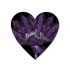 Panic At The Disco Heart Magnet by Samandel