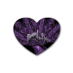 Panic At The Disco Heart Coaster (4 Pack)  by Samandel