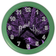 Panic At The Disco Color Wall Clocks