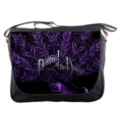 Panic At The Disco Messenger Bags by Samandel