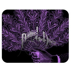 Panic At The Disco Double Sided Flano Blanket (medium)  by Samandel