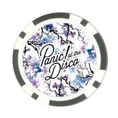 Panic! At The Disco Poker Chip Card Guard by Samandel