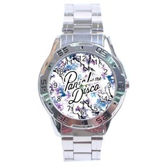 Panic! At The Disco Stainless Steel Analogue Watch by Samandel