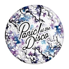 Panic! At The Disco Ornament (round Filigree) by Samandel