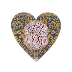 Panic! At The Disco Heart Magnet by Samandel
