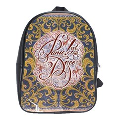 Panic! At The Disco School Bag (large) by Samandel