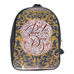 Panic! At The Disco School Bag (xl) by Samandel