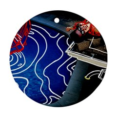 Panic! At The Disco Released Death Of A Bachelor Ornament (round) by Samandel