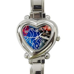 Panic! At The Disco Released Death Of A Bachelor Heart Italian Charm Watch by Samandel