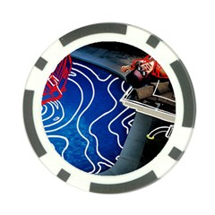 Panic! At The Disco Released Death Of A Bachelor Poker Chip Card Guard (10 Pack) by Samandel