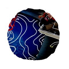 Panic! At The Disco Released Death Of A Bachelor Standard 15  Premium Round Cushions by Samandel