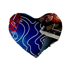 Panic! At The Disco Released Death Of A Bachelor Standard 16  Premium Flano Heart Shape Cushions by Samandel