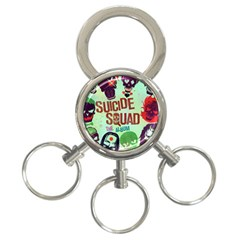 Panic! At The Disco Suicide Squad The Album 3 Ring Key Chains by Samandel
