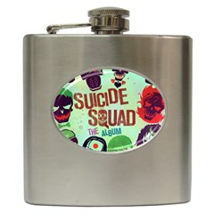 Panic! At The Disco Suicide Squad The Album Hip Flask (6 Oz) by Samandel