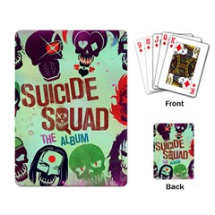 Panic! At The Disco Suicide Squad The Album Playing Card by Samandel
