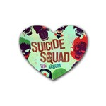Panic! At The Disco Suicide Squad The Album Heart Coaster (4 pack)  Front