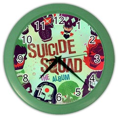 Panic! At The Disco Suicide Squad The Album Color Wall Clocks by Samandel