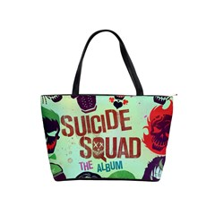 Panic! At The Disco Suicide Squad The Album Shoulder Handbags by Samandel