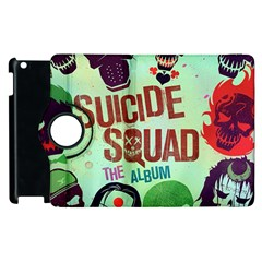 Panic! At The Disco Suicide Squad The Album Apple Ipad 2 Flip 360 Case by Samandel