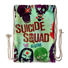 Panic! At The Disco Suicide Squad The Album Drawstring Bag (large) by Samandel