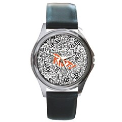 Paramore Is An American Rock Band Round Metal Watch