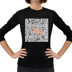 Paramore Is An American Rock Band Women s Long Sleeve Dark T Shirts by Samandel