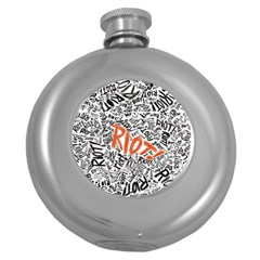 Paramore Is An American Rock Band Round Hip Flask (5 Oz)