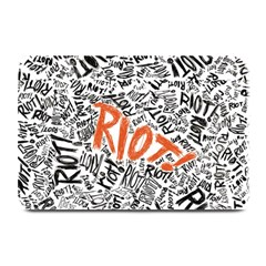 Paramore Is An American Rock Band Plate Mats by Samandel