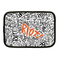 Paramore Is An American Rock Band Netbook Case (medium)  by Samandel
