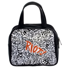 Paramore Is An American Rock Band Classic Handbags (2 Sides) by Samandel