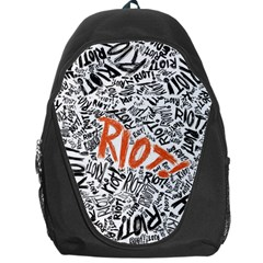 Paramore Is An American Rock Band Backpack Bag by Samandel
