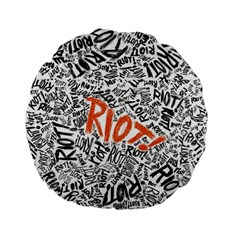 Paramore Is An American Rock Band Standard 15  Premium Flano Round Cushions by Samandel
