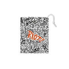 Paramore Is An American Rock Band Drawstring Pouches (xs)  by Samandel