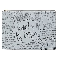 Panic! At The Disco Lyrics Cosmetic Bag (xxl)  by Samandel