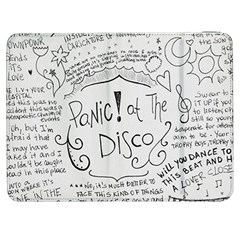 Panic! At The Disco Lyrics Samsung Galaxy Tab 7  P1000 Flip Case by Samandel