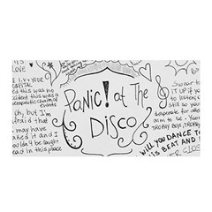 Panic! At The Disco Lyrics Satin Wrap