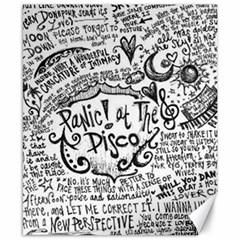 Panic! At The Disco Lyric Quotes Canvas 8  X 10