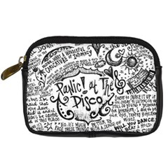 Panic! At The Disco Lyric Quotes Digital Camera Cases by Samandel