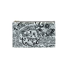 Panic! At The Disco Lyric Quotes Cosmetic Bag (small)  by Samandel