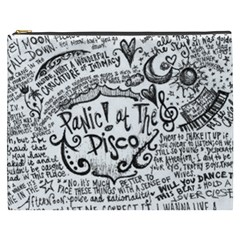Panic! At The Disco Lyric Quotes Cosmetic Bag (xxxl)  by Samandel