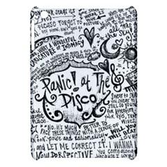 Panic! At The Disco Lyric Quotes Apple Ipad Mini Hardshell Case by Samandel