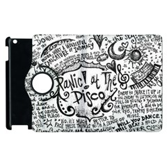 Panic! At The Disco Lyric Quotes Apple Ipad 3/4 Flip 360 Case by Samandel