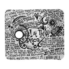 Panic! At The Disco Lyric Quotes Galaxy S3 (flip/folio) by Samandel
