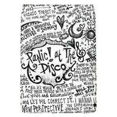 Panic! At The Disco Lyric Quotes Flap Covers (s)  by Samandel